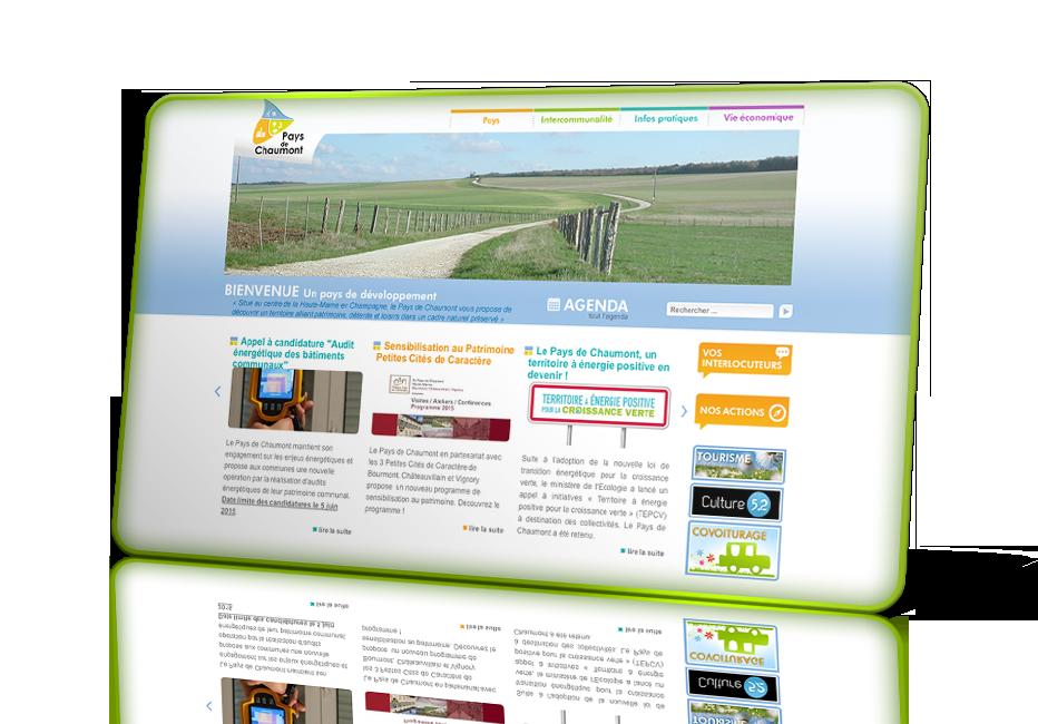 Site internet pour pays chaumont id al productions for Pays de chaumont